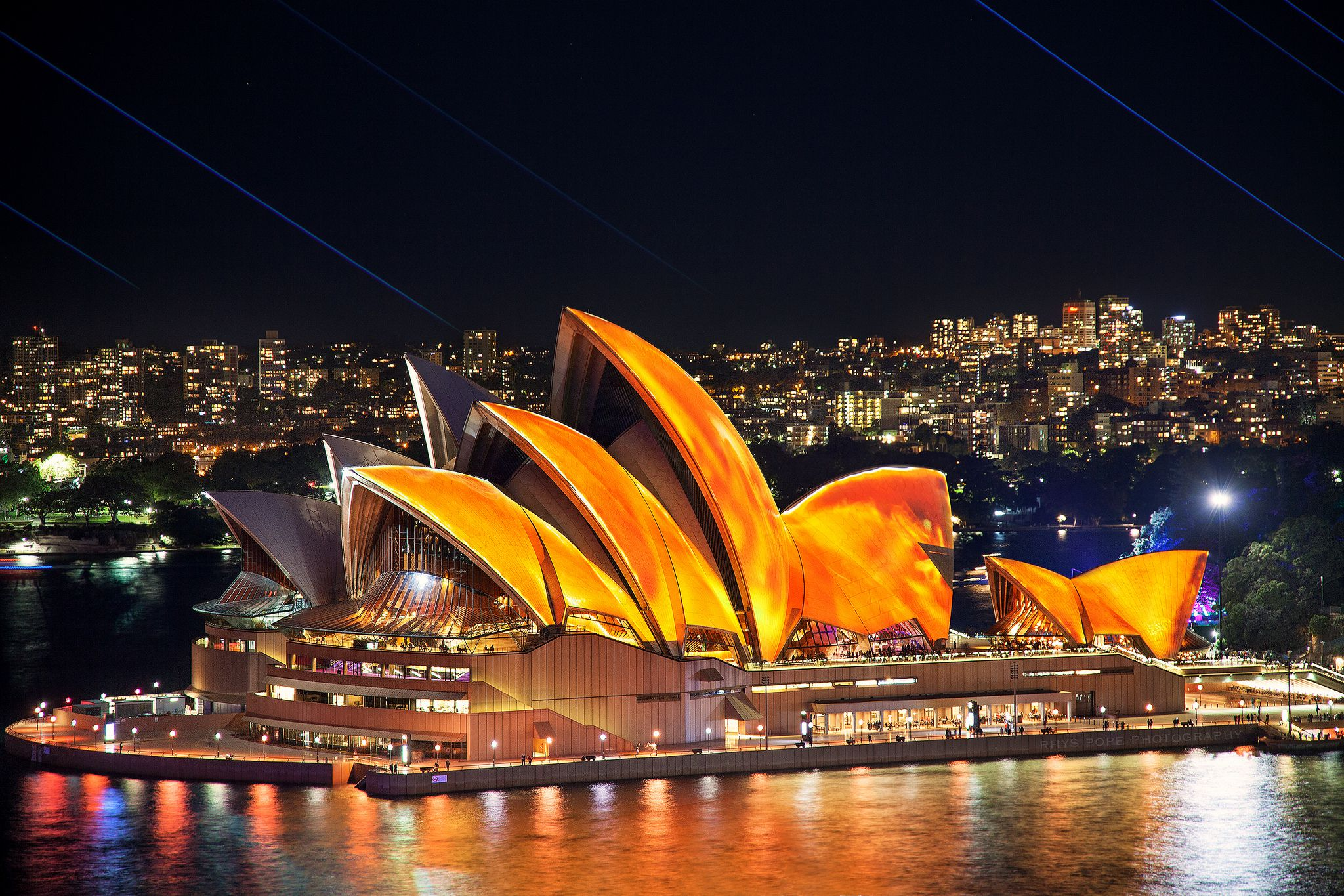Iredible Color Palette In Sydney Opera House 3 Images In Hd