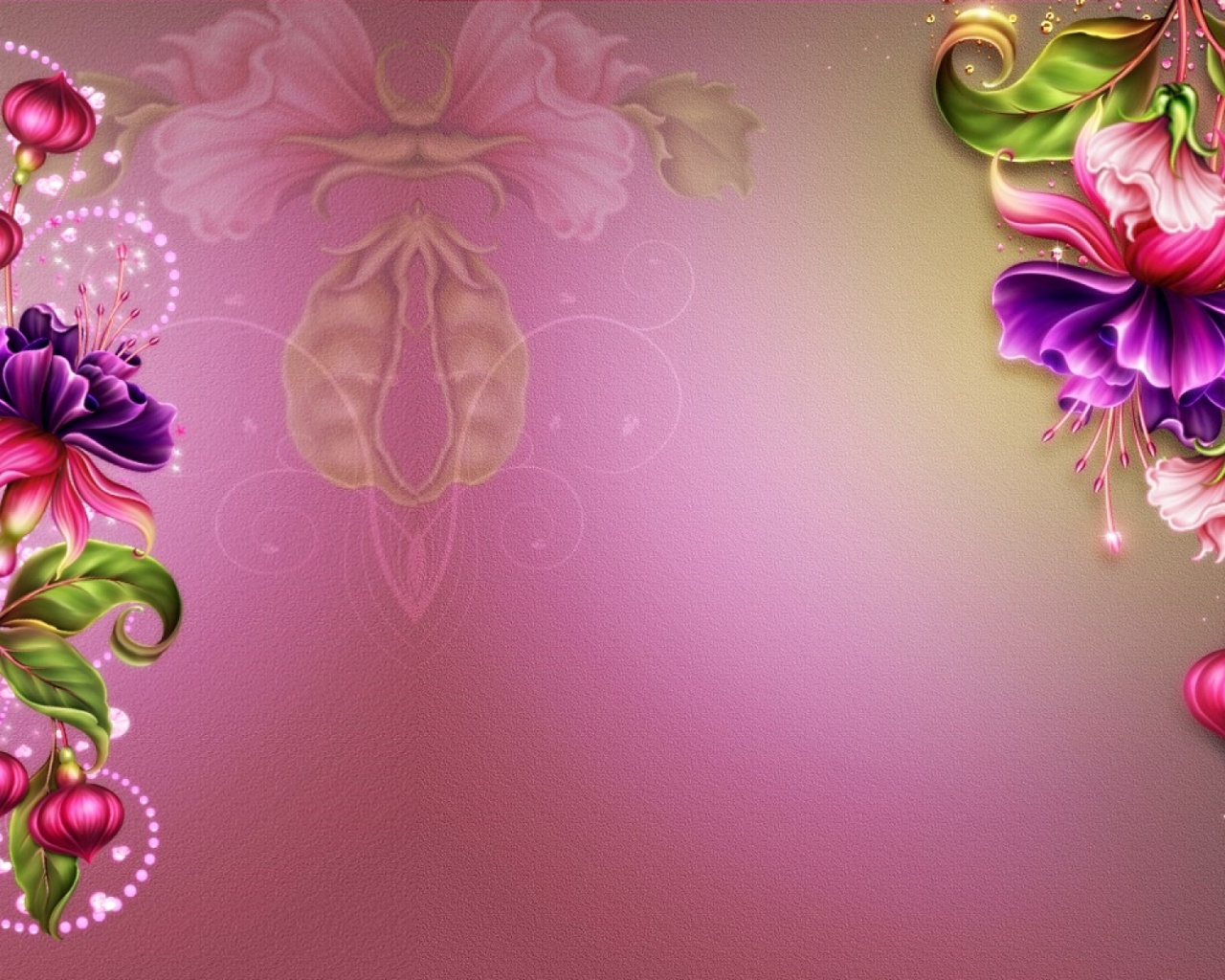 1280x1024 abstract fuchsia pink glamour desktop pc and mac wallpaper