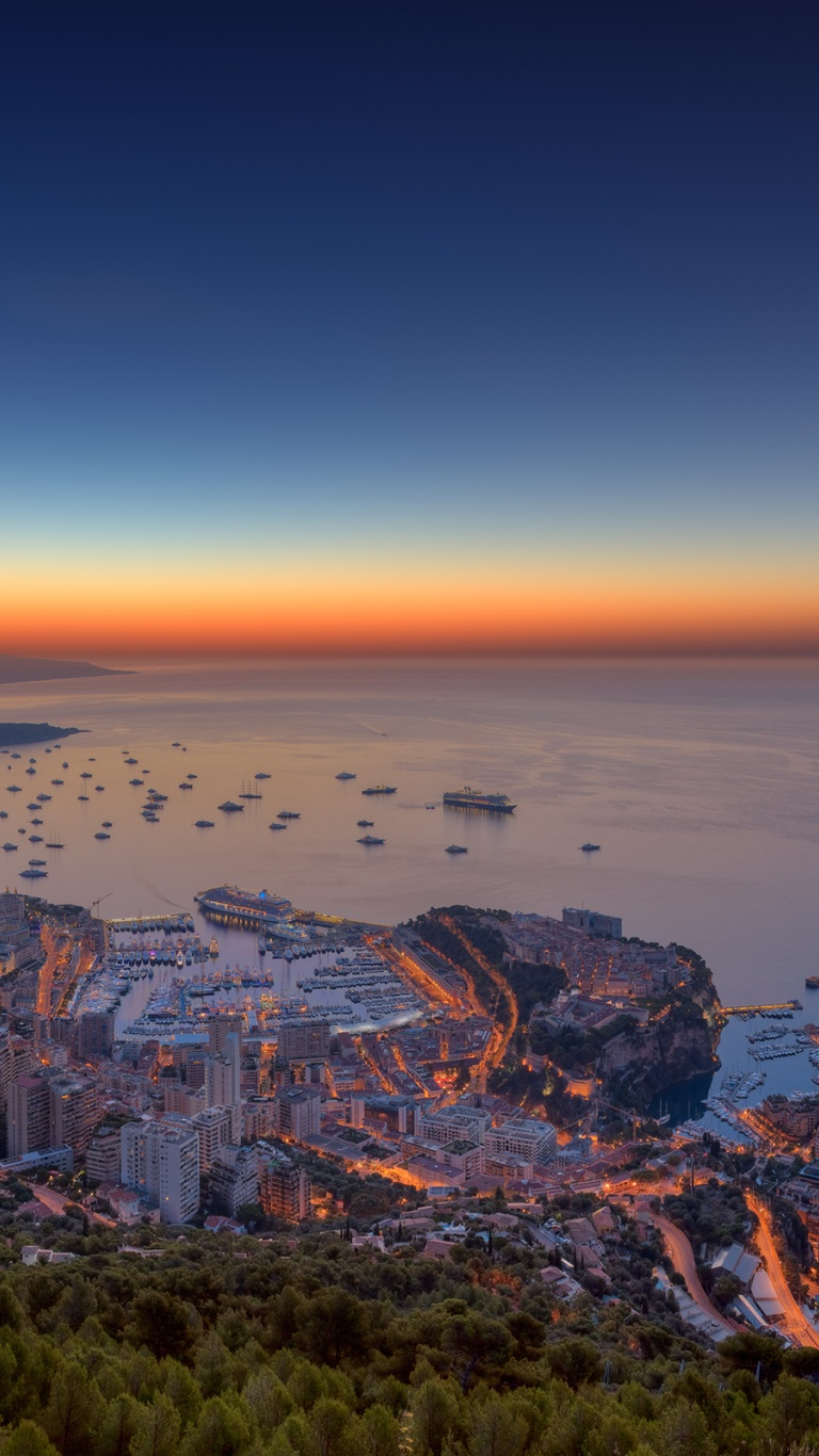 768x1366 Monaco City Two Surface Rt Wallpaper