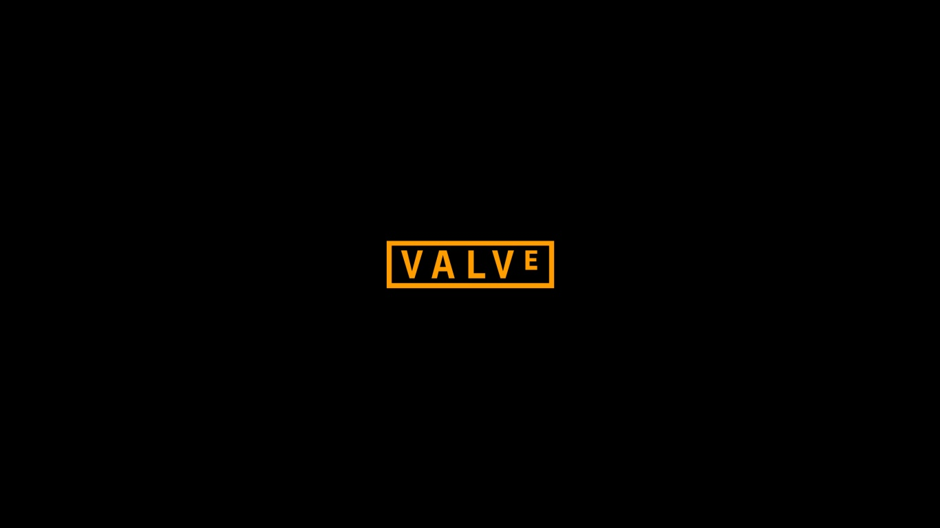 1366x768 Valve Logo Desktop PC And Mac Wallpaper
