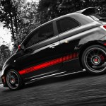 Fiat 500 Abarth Side Angle Wallpapers Fiat 500 Abarth Side Angle Stock Photos