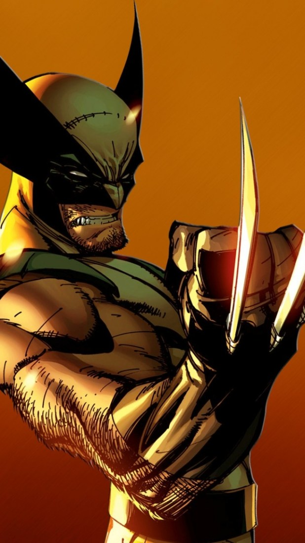 Wolverine Wallpapers For Iphone 5 Wallpapersimages Org