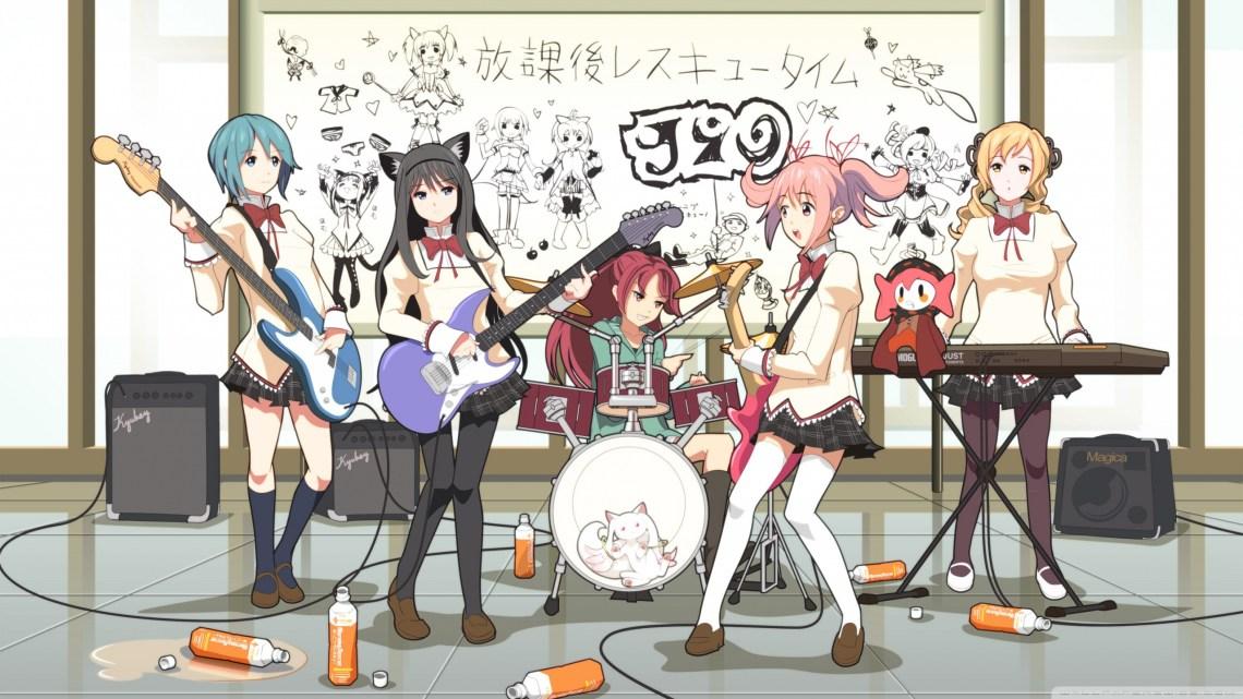 Anime Music Band Ultra Hd Desktop Background Wallpaper For 4k Uhd Tv Tablet Smartphone
