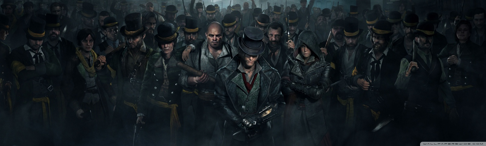 Assassin s Creed Syndicate Gang 2015 video game        4K HD Desktop     Dual Wide 5 3