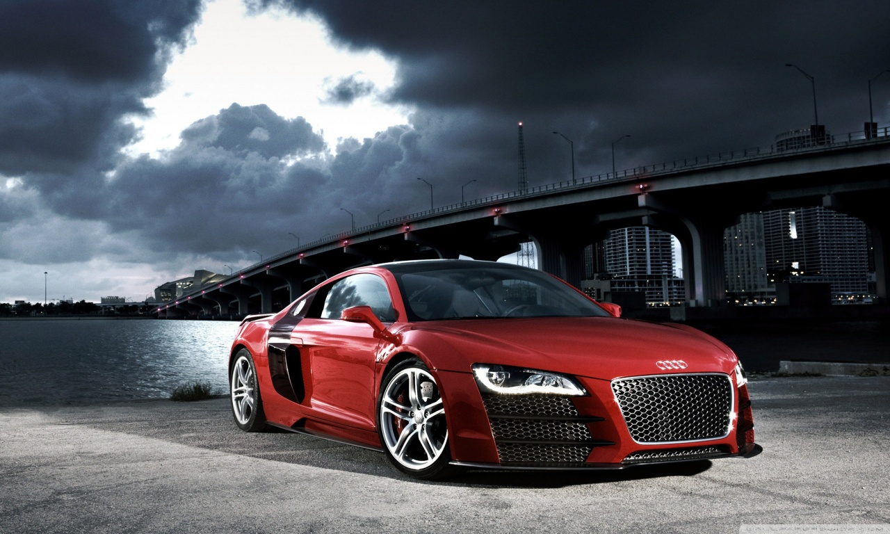 Audi R8 TDI Le Mans Concept 5 HD desktop wallpaper ...