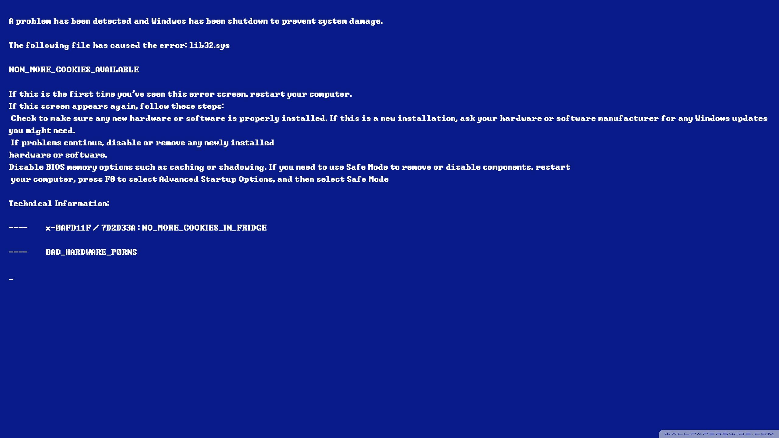 Funny Dual Monitor Wallpaper 3840x1200