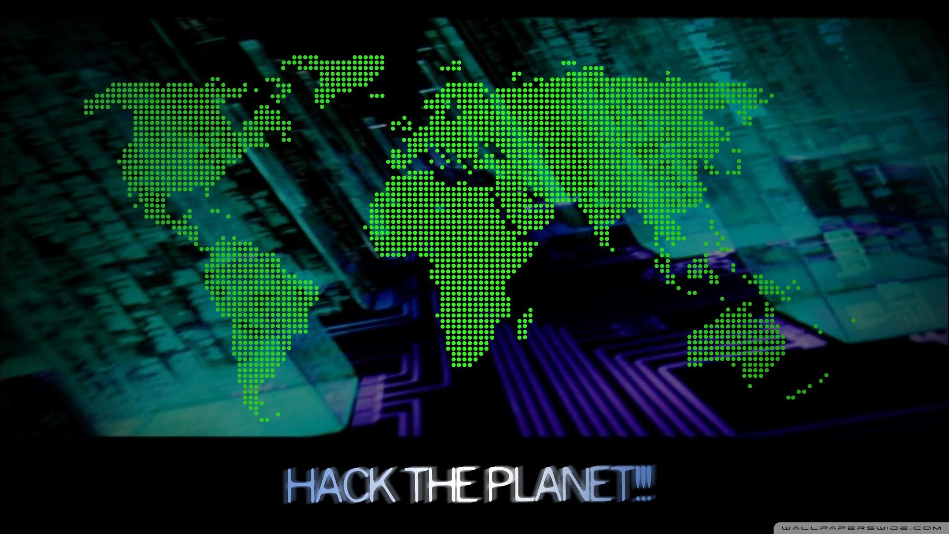 hack the planet ❤ uhd desktop wallpaper for ultra hd 4k 8k • mobile