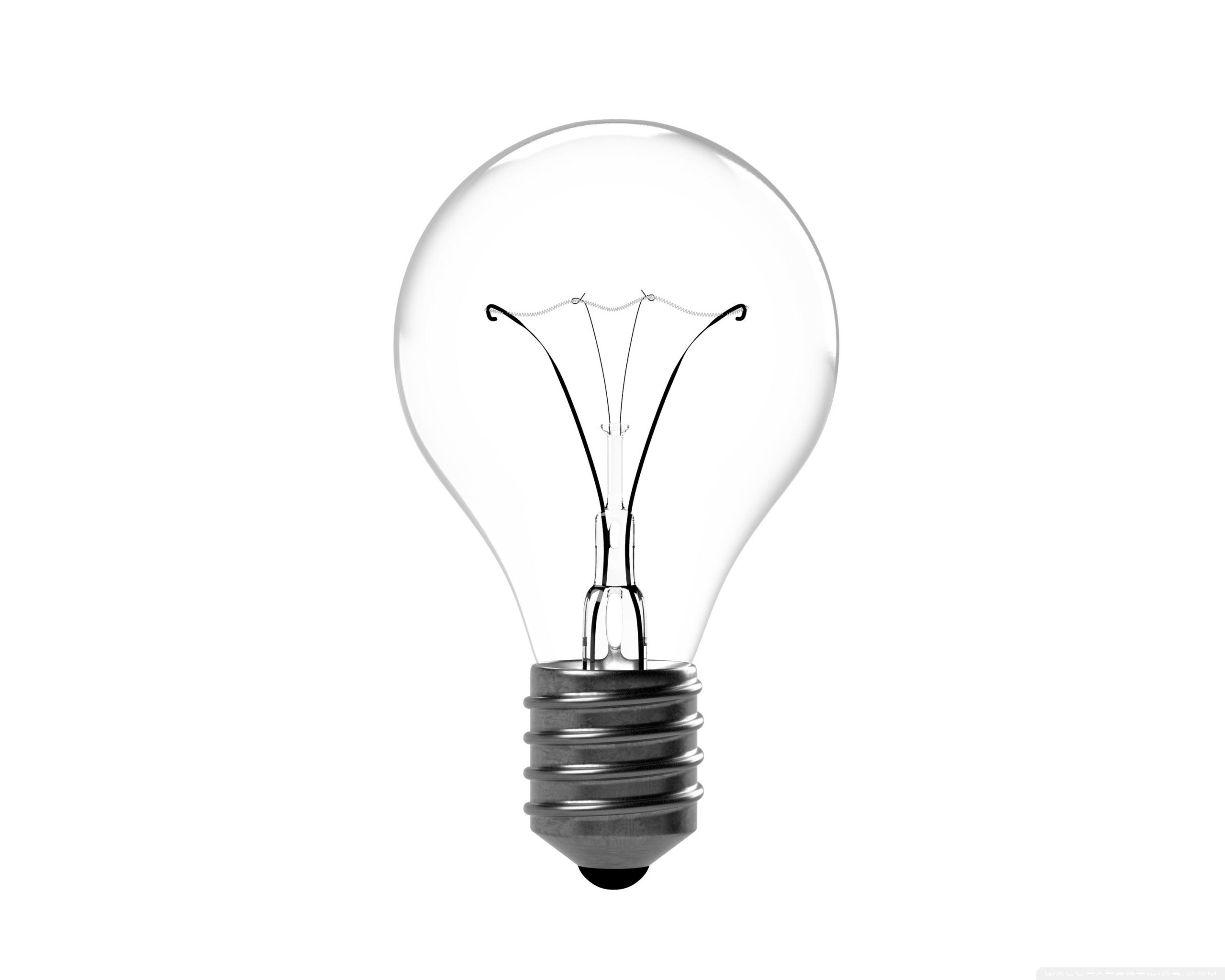 Incandescent Light Bulb 4k Hd Desktop Wallpaper For 4k
