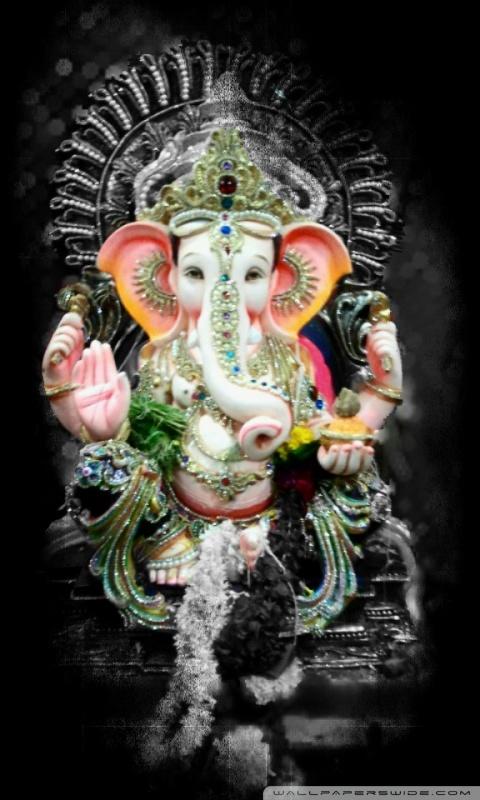 Lord Ganesh Ultra Hd Desktop Background Wallpaper For Tablet Smartphone