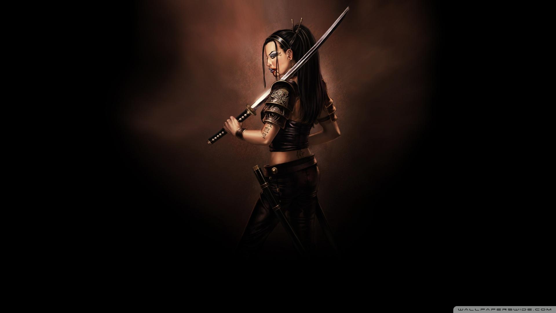 samurai sword ❤ uhd desktop wallpaper for ultra hd 4k 8k