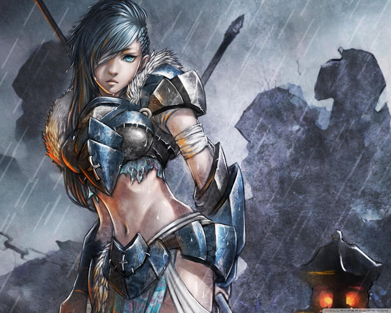 Woman Warrior 4K HD Desktop Wallpaper For 4K Ultra HD TV
