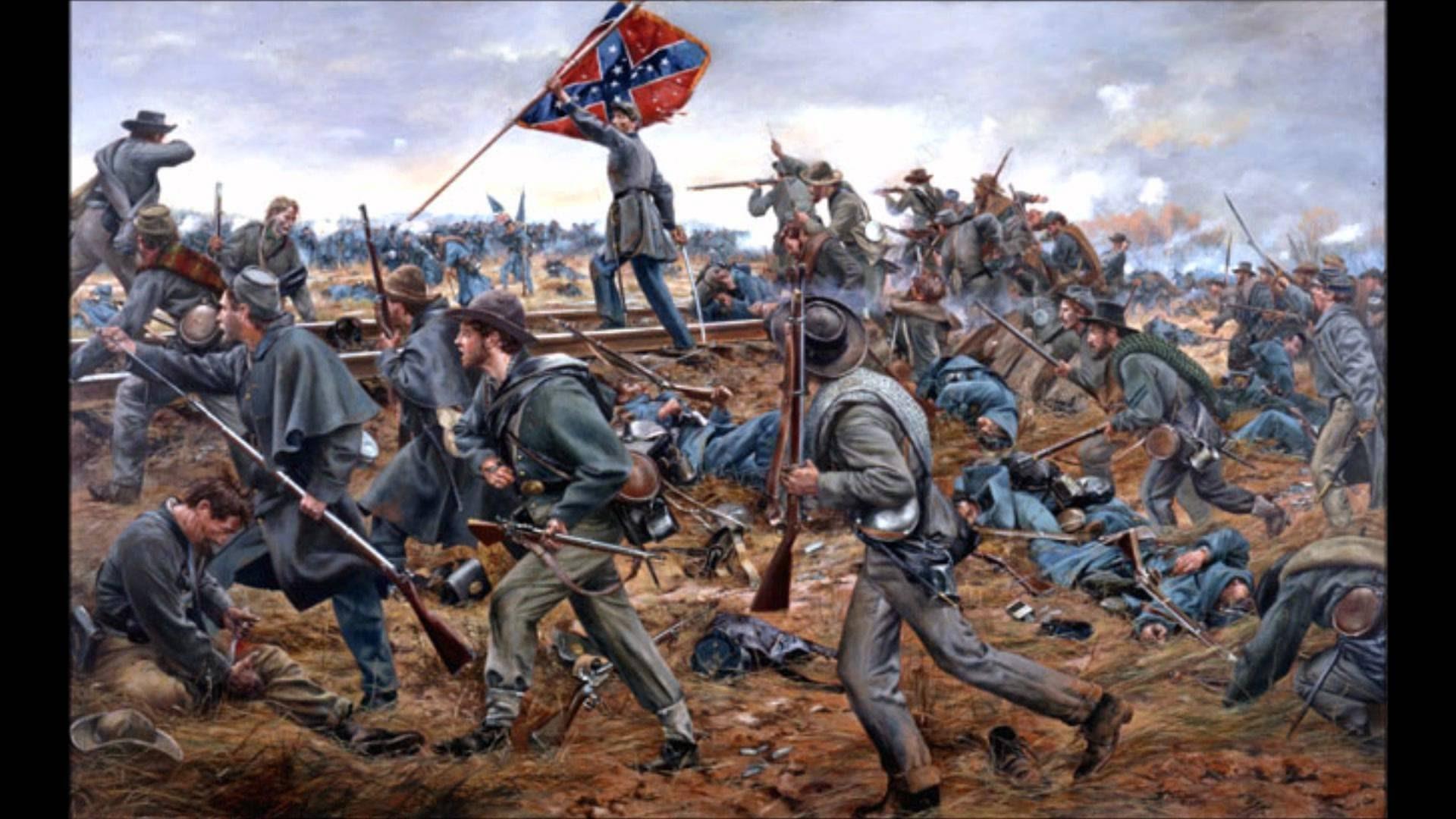 American Civil War Wallpaper Wallpapertag