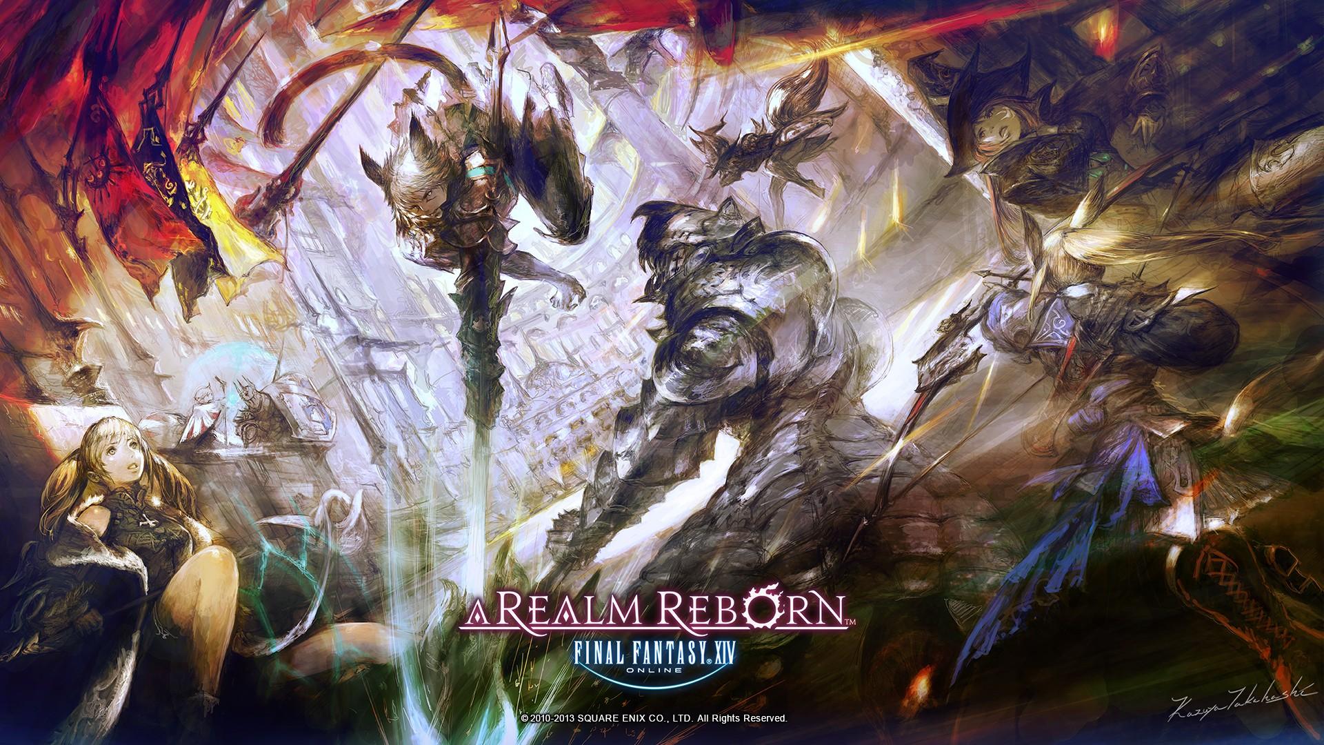Final Fantasy XIV Wallpaper Download Free Amazing Full