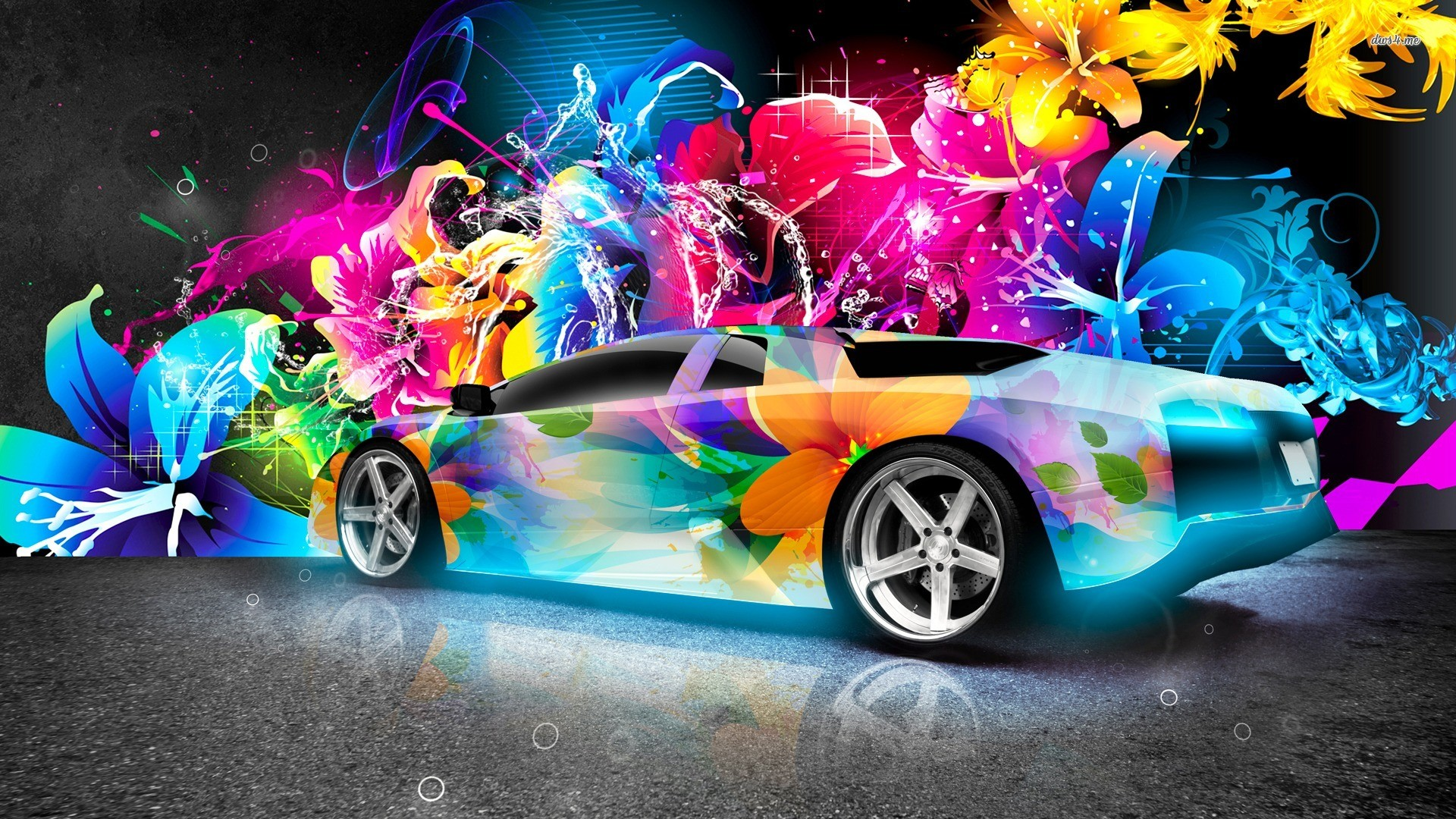 Cool Car Background ①
