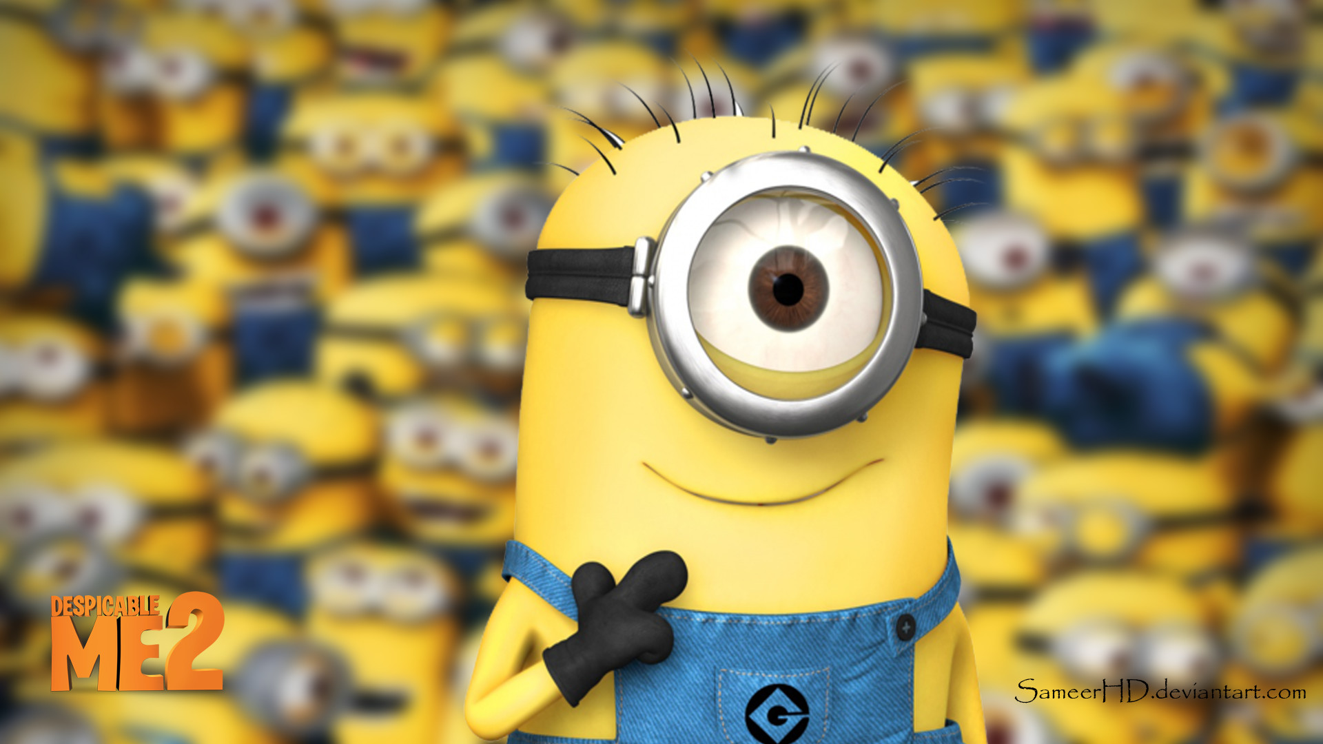 despicable me minion wallpaper ·①