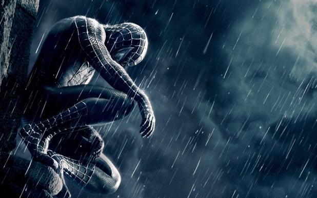 Black Spiderman Wallpaper For Iphone Wallpaper Directory