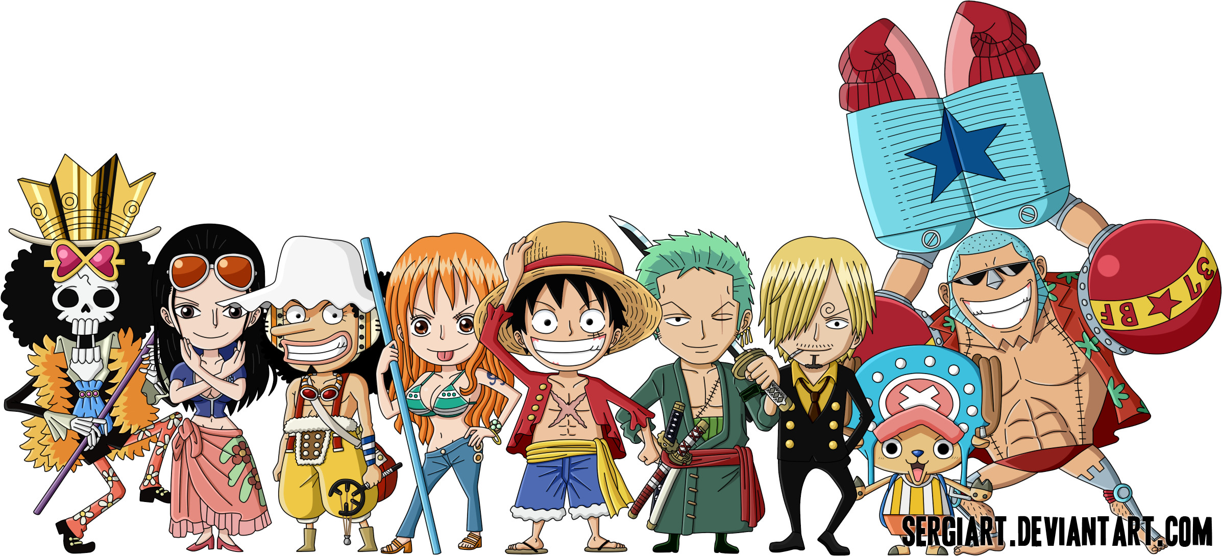 One Piece Chibi Wallpaper