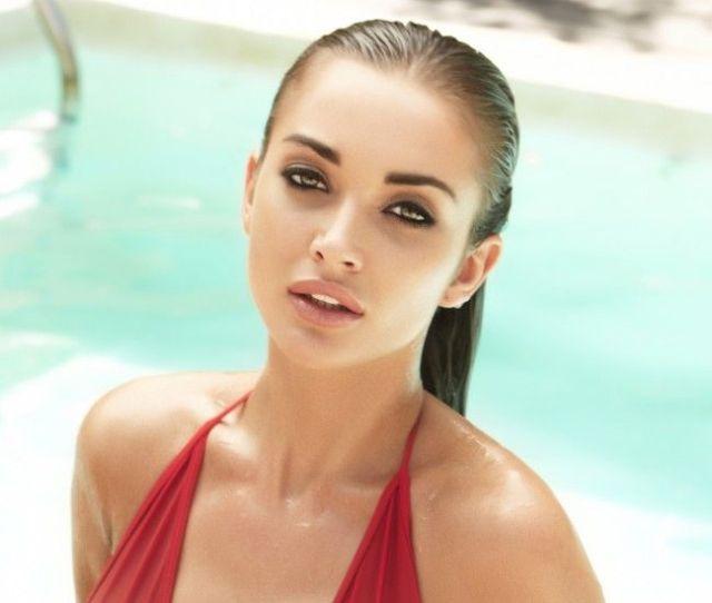 Wallpaper Amy Jackson Swimsuit Hot Bollywood Actress 4k Hd Celebrities