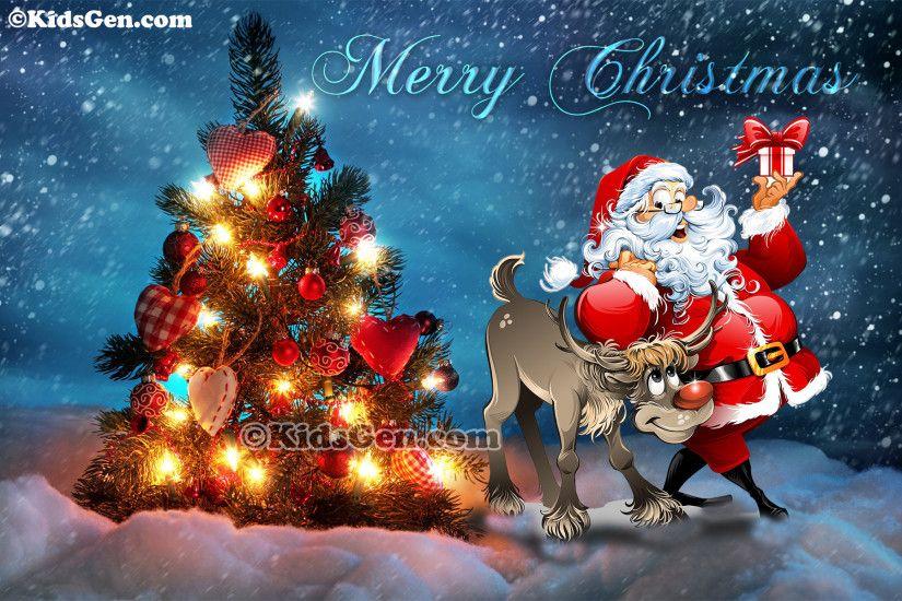 Claus Santa And Christmas Wallpaper Jesus