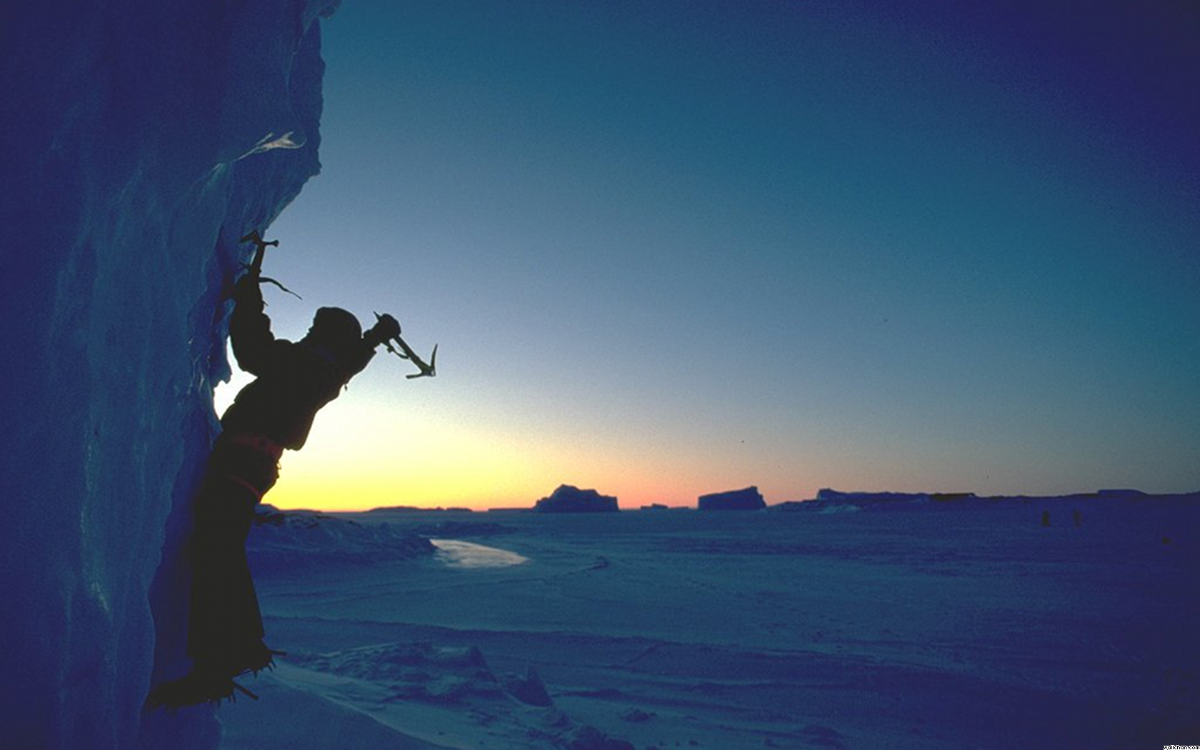ice climbing wallpaper - photo #19