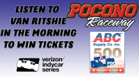 Win Tickets To The ABC Supply 500 Verizon Indy Car Series