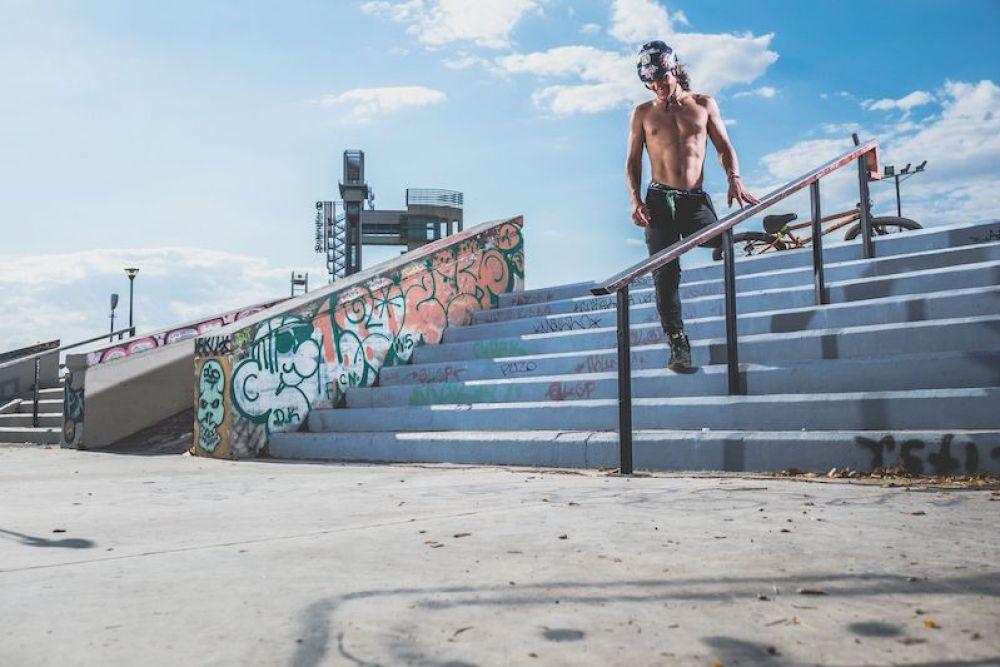 Julian Molina, BMX y superacion personal