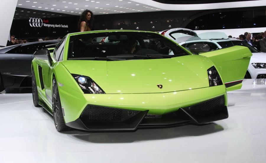 Lamborghini Gallardo Green Superleggera Photo Gallery