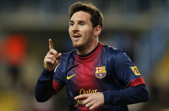 Lionel Messi Celebration Barcelona Photo Picture