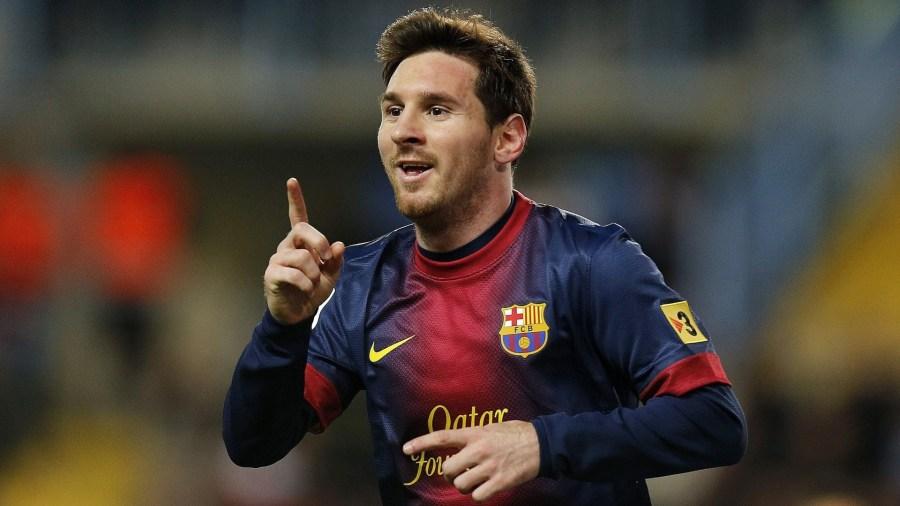 Lionel Messi Celebration Barcelona Photo Picture