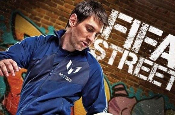 Lionel Messi FIFA Street Wallpaper HD Widescreen