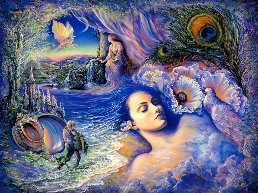 Josephine Wall Fantasy Art Paintings Image Picture Free
