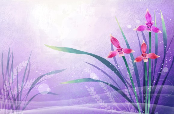 Beautiful Vector Art Flowers Wallpapers  Image Picture Free