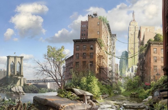 3D Fantasy Old City Widescreen HD Wallpapers Gallery