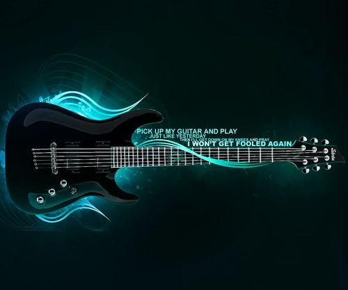 Home Samsung Galaxy S Music Guitars Sexy 3D Guitar