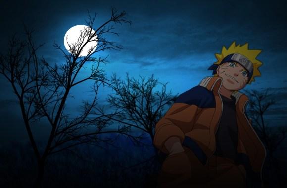 Uzumaki Naruto Alone At Night Picture HD Wallpapers Free