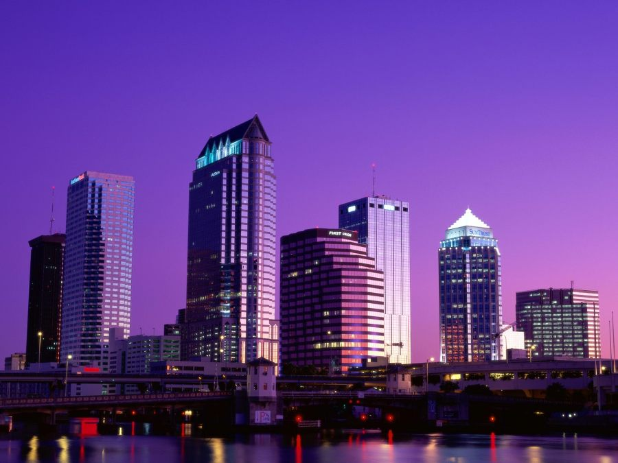 City Of Twilight Florida Wallpapers High Definition Widescreen