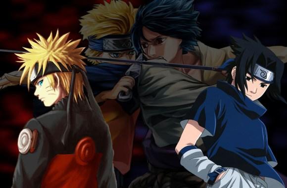 Naruto And Sasuke Anime Wallpapers HD Widescreen Free