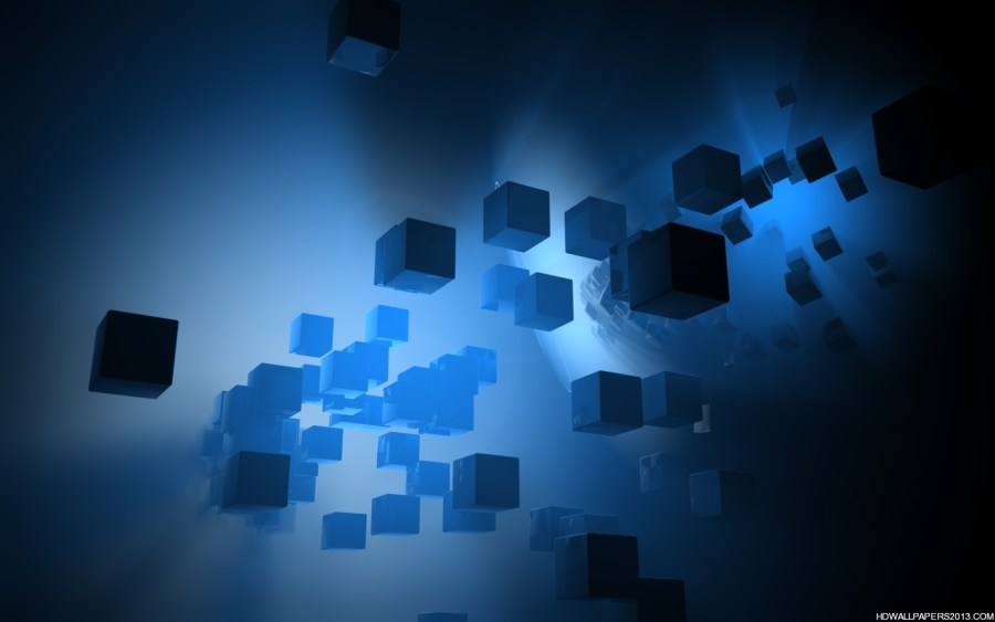 Wallpaper HD Abstract Dark Blue And Desktop For Your PC Computer