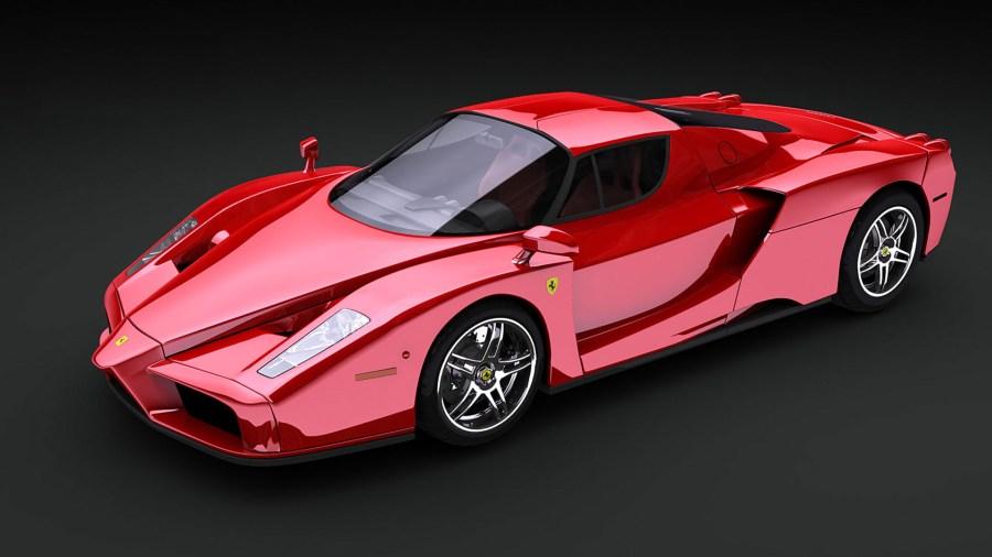 Free Download Ferrari Enzo HD Wallpaper Background