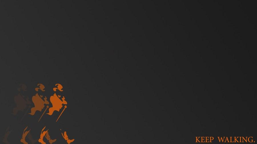 Johnnie Walker Keep Walking Grey HD Wallpaper Background
