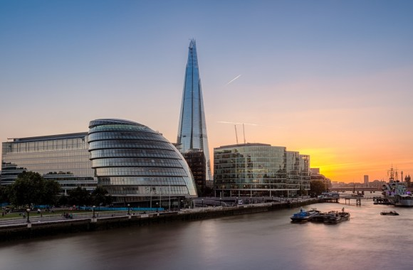 Amazing London City Hall When Afternoon Come Photo