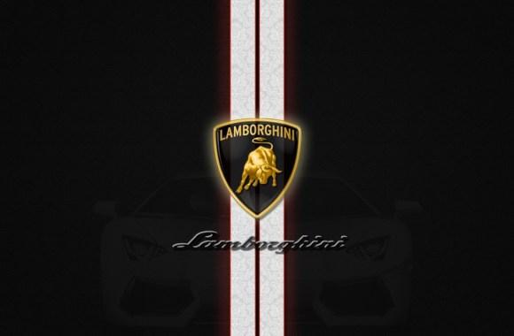 Lamborghini Logo Background High Definition Wallpaper Free Download