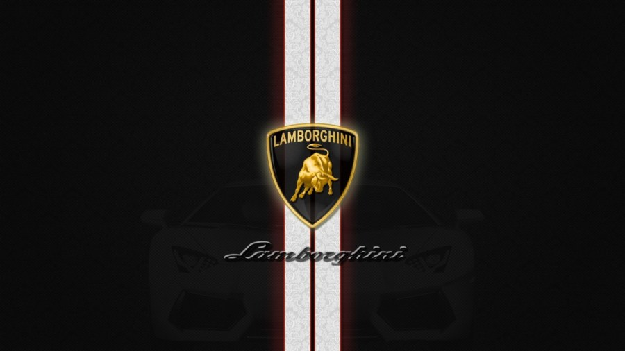 Lamborghini Logo Background High Definition Wallpaper Free Download