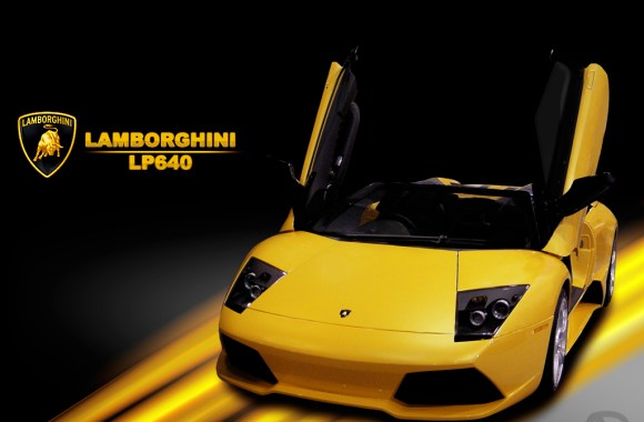 Yellow Lamborghini LP640 Exclusive HD Wallpapers Picture Image