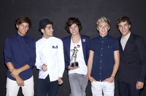 One Direction Black Background Picture Photo Wallpaper