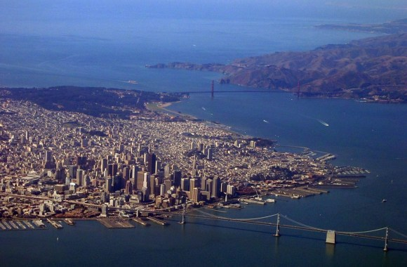 Aerial Photography San Francisco Wallpaper HD Widescreen Desktop