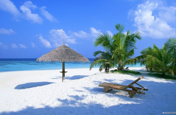 Free Download Travel Photography Maldives Beach HD Wallpaper