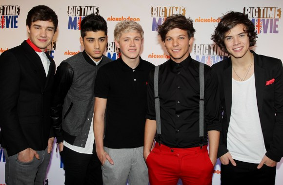 One Direction Ready To Perform On SNL Pictures