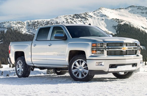 Amazing Chevrolet Silverado Widescreen HD Wallpaper For PC Desktop