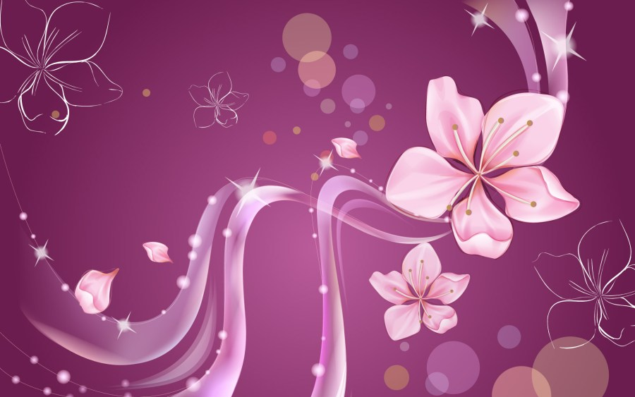 Abstract Flowers Pictures High Quality In HD Wallpaper Free Download